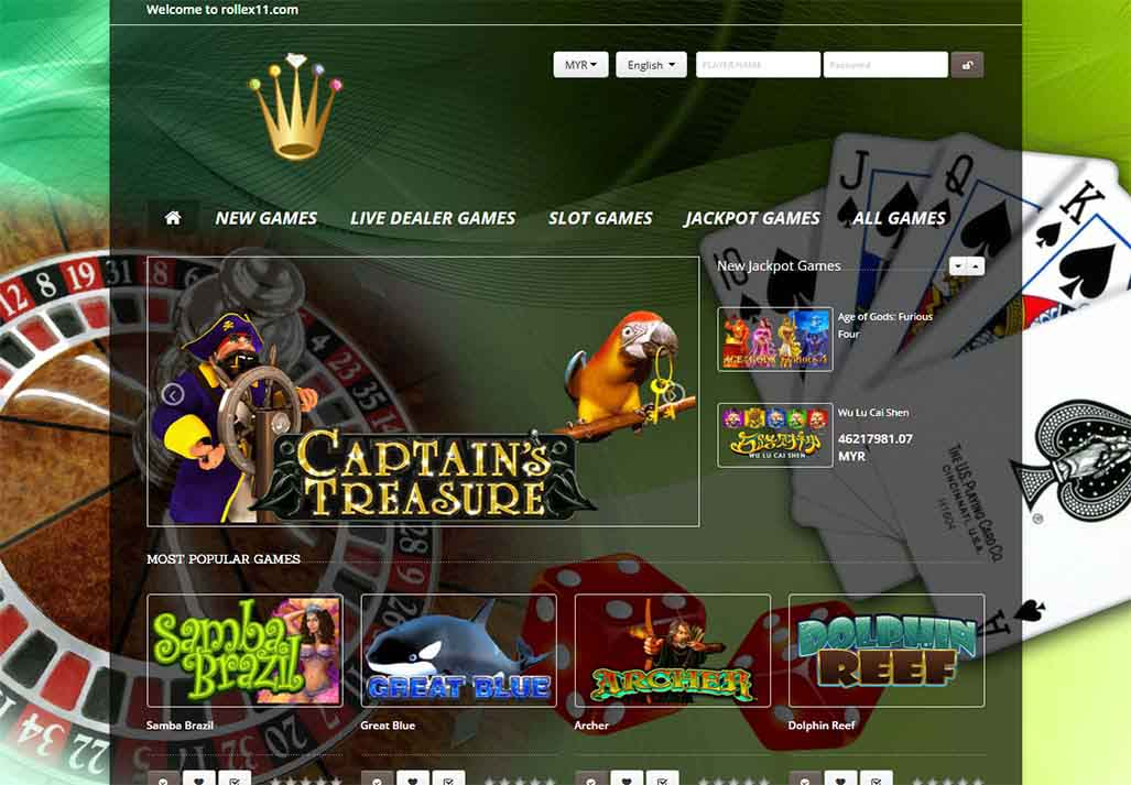 rollex casino games